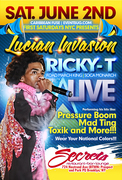 Lucian Invasion RICKY-T Live