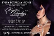 Saturday Night belongs to AizA. $100 bottle w/rsvp.