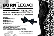 LEGACI'S BLACK TIE BIRTHDAY CELEBRATION DECEMBER 15, 2012