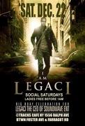I AM LEGACI BDAY CELEBRATION SOCIAL SATURDAYS EDITION @TRACKSCAFE DEC. 22nd