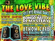 The Love Vibe (NYE 2013) All Nite OpenBar