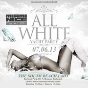 Miami Nice 2013 The Independence Day Weekend All White Yacht Party