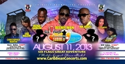 Six Flags Caribbean Concert