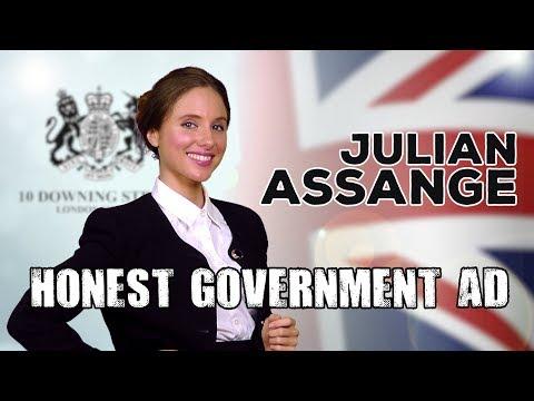 Honest Government Ad | Julian Assange