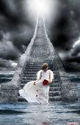 Anjo na escada