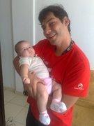 Meu primo Léo e Clarice minha afilhada !!
