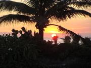 Entardecer na Praia de Itaúna
