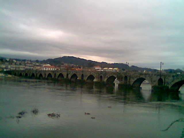 O rio Lima...