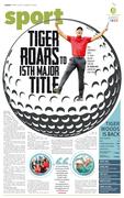 Tiger Woods is back