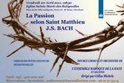 Matthaeus Passion Joh.Seb. Bach door Haags Barokgezelschap