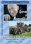 Gerard van Maasakkers ontmoet het Orchestre à Vents d'Orgères