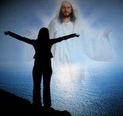 Eu e Jesus na praia