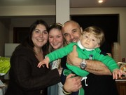 Cynthia, Marina, Caco e Gabriel