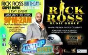 Rick Ross Birthday and Superbowl Celebration