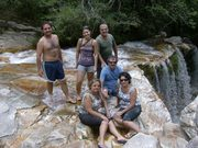 São Tomé das Letras - cachoeira