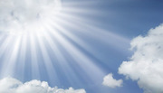 sun-rays-coming-out-of-the-clouds-in-a-blue-sky-sustainable-use-of-light