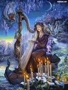 a deusa da música