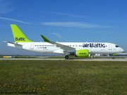 YL-AAO Air Baltic Airbus A220-300 EDDM