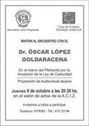 Encuentro Con el Dr. Lopez Goldaracena - Montevideo, Uruguay