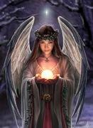 anjo portando a luz