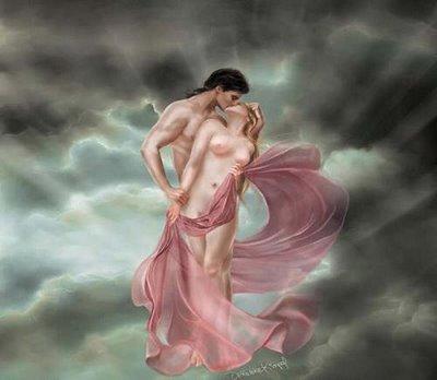Almas que se amam no céu
