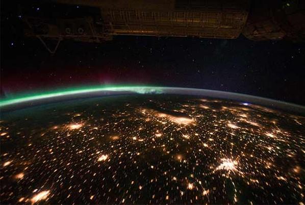 nasa fotografa crosta cósmica do planeta -45