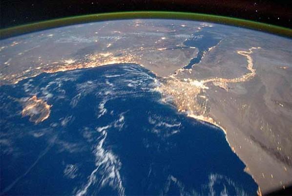 nasa fotografa crosta cósmica do planeta