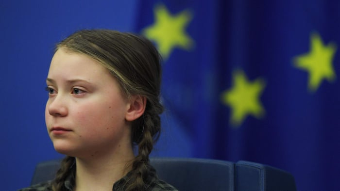 The Guardian: Greta Thunberg's emotional speech to EU leaders – video