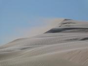 Dunas da praia de Itapirubá em direção ao Timbé