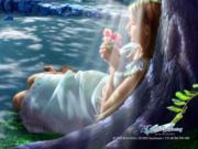 Fada Flor do Amor - Filha de Isis