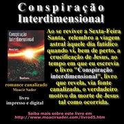 Morte de Jesus na cruz e o livro Conspiração interdimensional