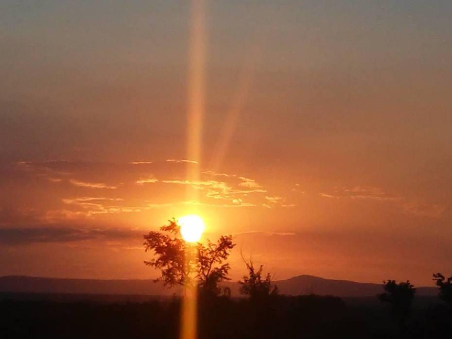 Por do sol. Chapada Diamantina Bahia
