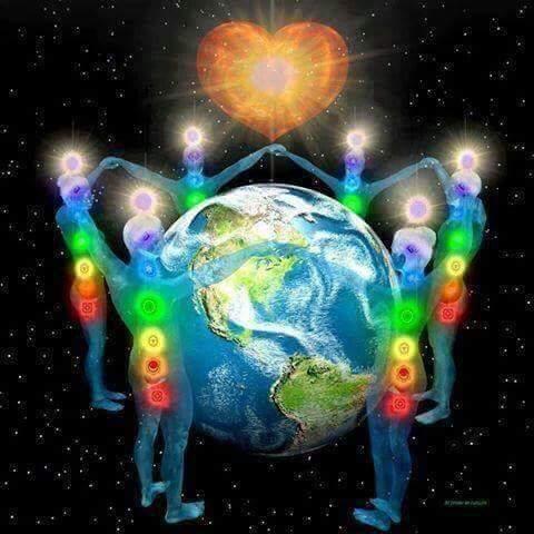Ancoramento Amoroso e Energético pela Paz Mundial...