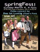 Springfest with Das Lustig (Valina & Ross & band)