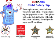 Child Safety Tip - Large Events
