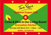Grenadian Kitchen Saturday 24th March 2012 SOLD OUT