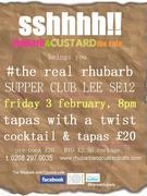 #therealrhubarb @ rhubarb&custardthecafe LEE SE12