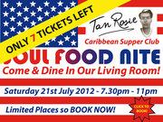 Soul Food Nite Saturday 21st July 2012