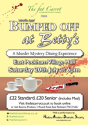 The Fat Carrot hosts Bumped off at Betty's, Afternoon Tea & Murder Mystery