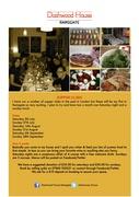 Dashwood House Supper club Ramsgate - 5th July
