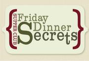 Restaurant style seating at Friday Dinner Secrets