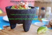 Cinco de Mayo supper club: tequila and tacos