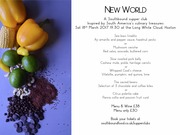 New World - Supper club by Southbound