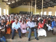 Bishop Charles Musisi with the Youth in  The Youth Comference  2009
