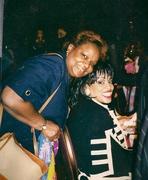 Vicki Wynams and me