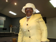 MINISTER GLORIA DALE
