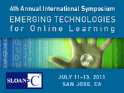 4th Annual Emerging Technologies for Online Learning International Symposium