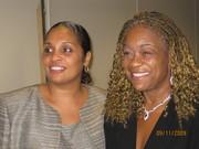 Nicole and Vivian Majors (prayer partner)