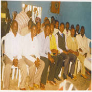 The Bishop with Zaki-Biam Pastors after meeting