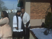 Pastor Tashicka Hayes w/ God Brother Apostle Andre Mills